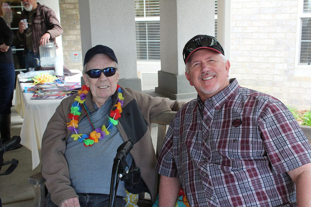 Belleview Suites at DTC | Residents smiling