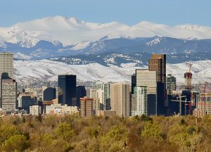 Belleview Suites at DTC | Local Denver skyline