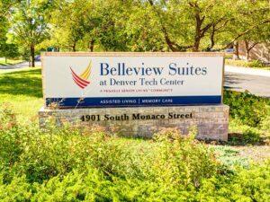 Belleview Suites at DTC   Entrance sign