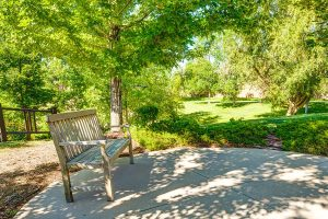 Belleview Suites at DTC | Patio with Bench