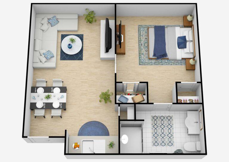 Belleview Suites at DTC | One Bedroom
