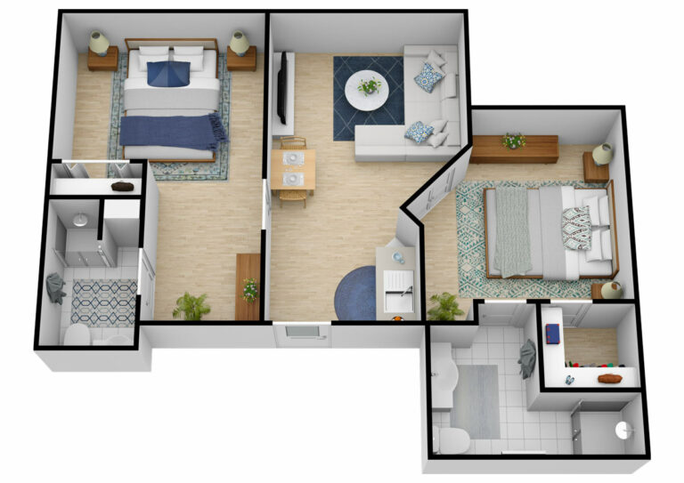 Belleview Suites at DTC | Two Bedroom