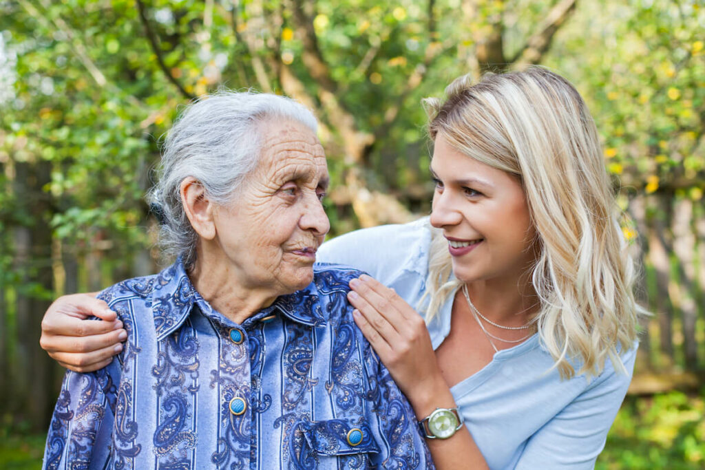 Belleview Suites at DTC | Grandmother and granddaughter bonding
