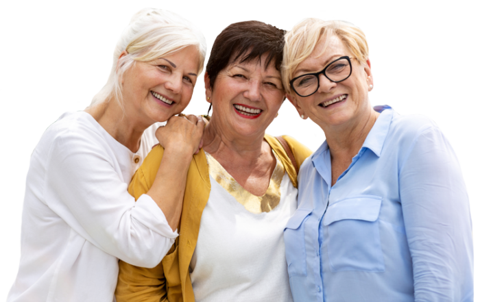 Belleview Suites at DTC   Group of senior women smiling