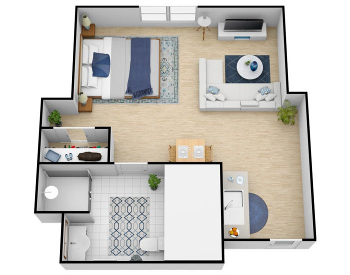 Belleview Suites at DTC | Grand Studio