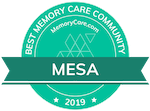 MemoryCare.com award for Best Memory Care Community in Mesa, AZ 2019