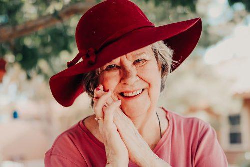Broadway Mesa Village   Senior woman smiling