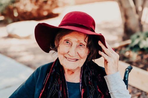 Broadway Mesa Village | Senior woman smiling