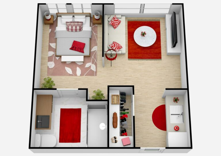Broadway Mesa Village   One Bedroom