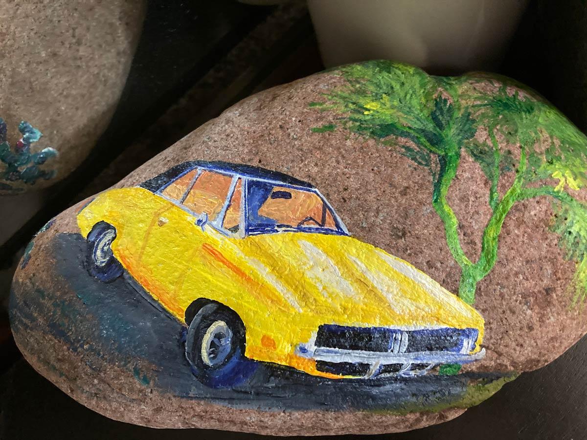 Broadway Mesa Village | Teresa Hadley's painted rock