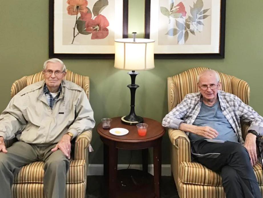 Castlewoods Place | Two senior men