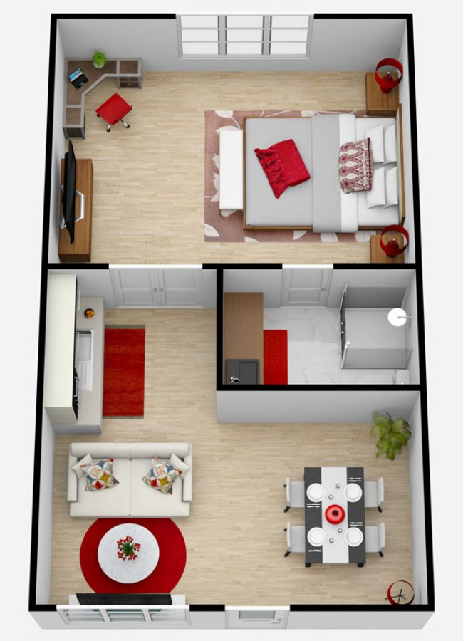 Castlewoods Place | One Bedroom