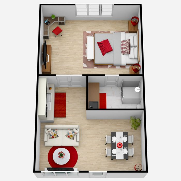 Castlewoods Place   One Bedroom