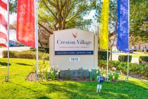 Creston Village | Outdoor Sign