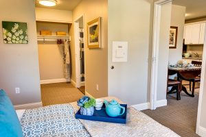 Creston Village | Bedroom and Hallway
