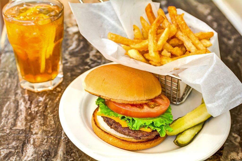 Dunwoody Place | Burger, fries, and drink