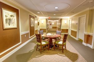 Dunwoody Place | Hallway with Table