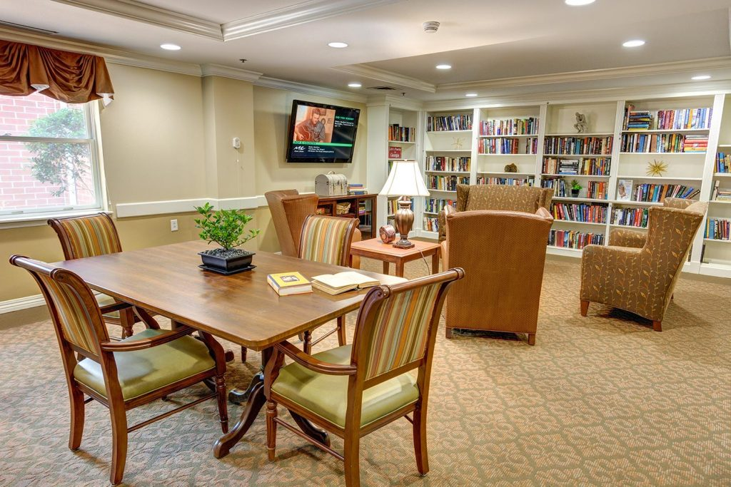 Dunwoody Place | Library Study