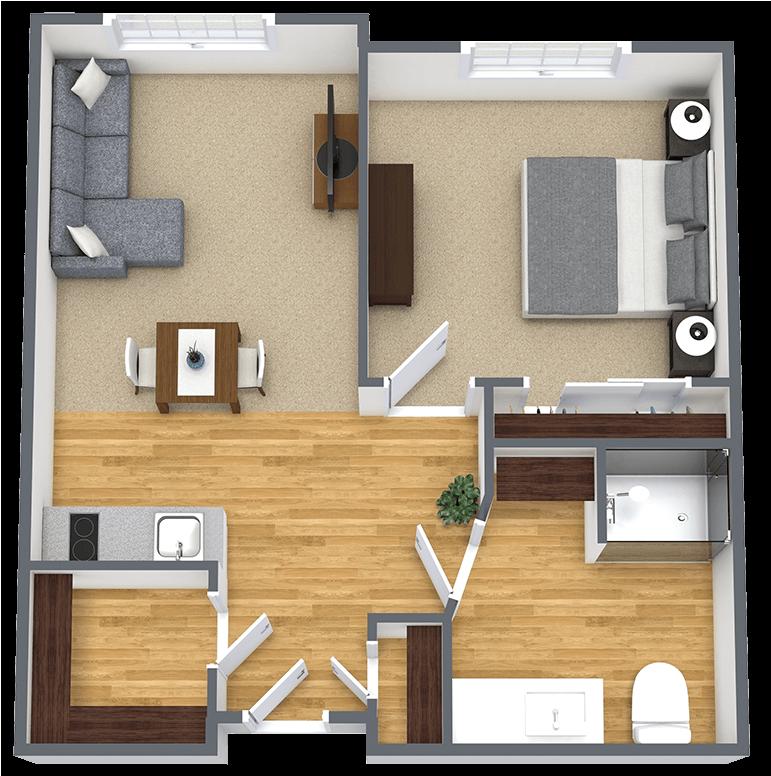 Gig Harbor Court | One Bedroom