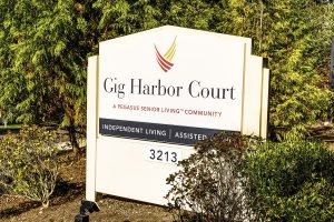 Gig Harbor Court | Outdoor Sign