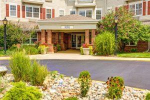 Glenwood Village of Overland Park   Outdoor Entrance