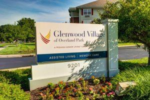 Glenwood Village of Overland Park   Outdoor Sign