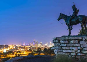 Glenwood Village of Overland Park | Local photo of Kansas City statue