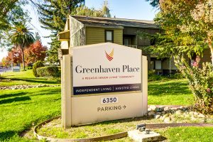 Greenhaven Place   Sign