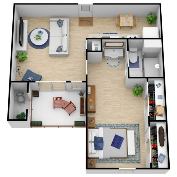 Greenhaven Place | Large One Bedroom