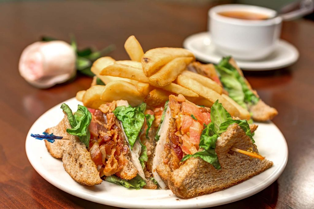 Historic Roswell Place | Sandwich with fries