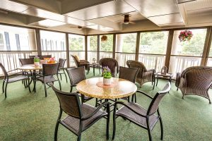 Historic Roswell Place | Community Sunroom