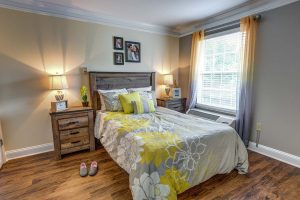 Historic Roswell Place | Bedroom