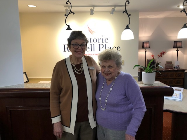 Historic Roswell Place Resident and Concierge