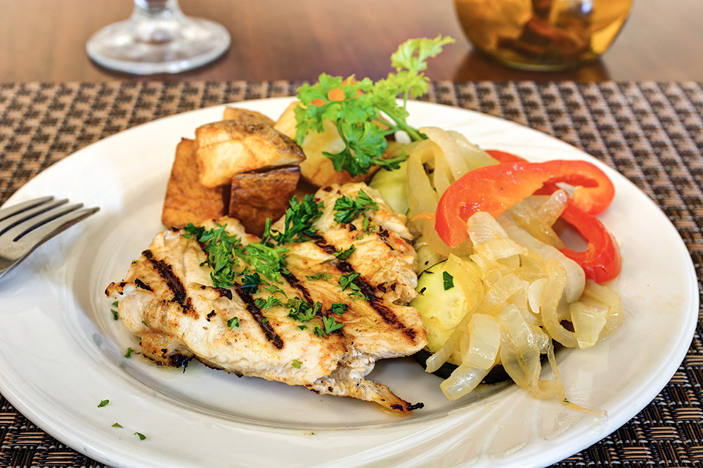 Laketown Village | Chicken with potatoes and vegetables