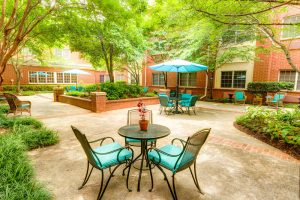 Magnolia Place of Roswell | Large Patio