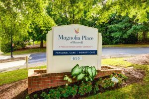 Magnolia Place of Roswell | Sign