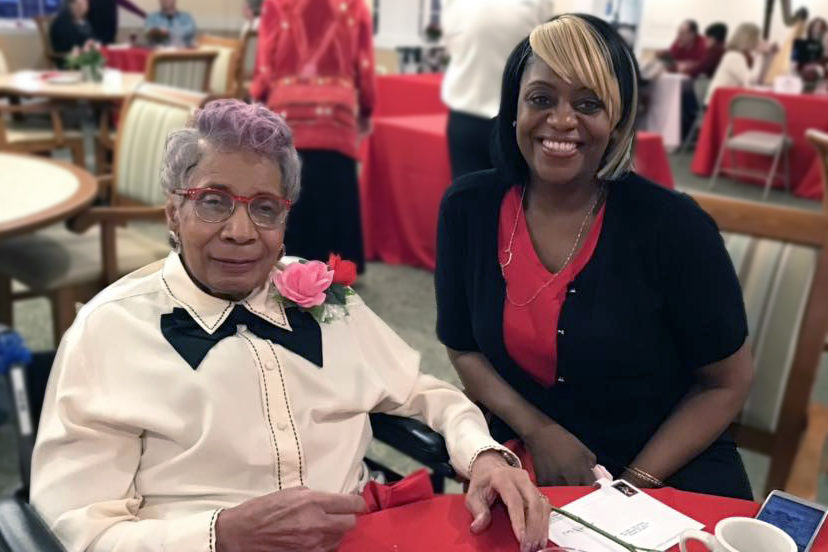 Magnolia Place of Roswell | Senior woman with daughter