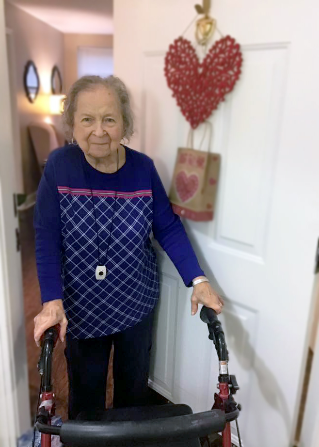 Magnolia Place of Roswell | Senior woman at door