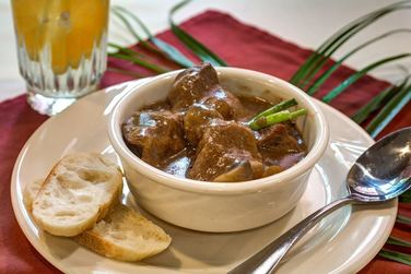 Magnolia Place of Roswell | Beef stew with bread