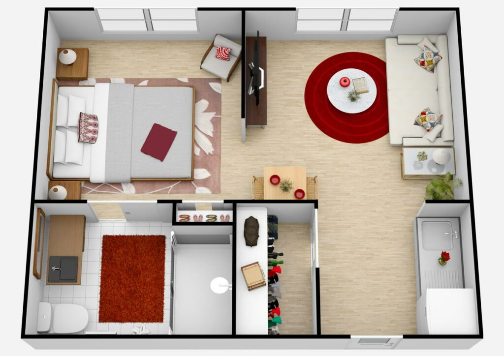 Parmer Woods at North Austin   Unit B1 AL One Bedroom