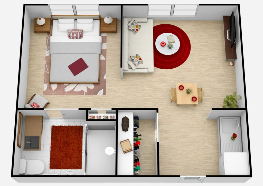 Parmer Woods at North Austin   Unit D1 AL One Bedroom