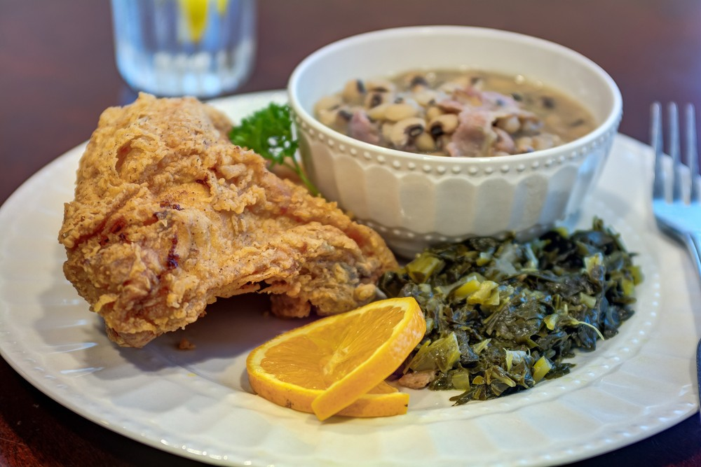 Ridgeland Place | Chicken with vegetables and soup