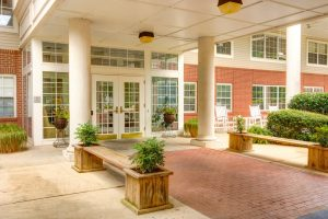 Ridgeland Place | Outdoor Entrance