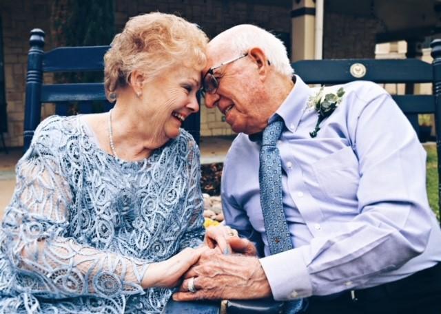 Ridgmar Place | Senior couple