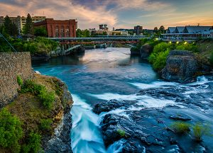 South Hill Village | Local river and bridge