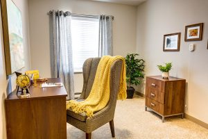 South Hill Village | Room with Desk and Chair