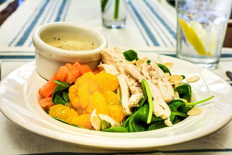South Hill Village | Chicken salad with mandarin oranges