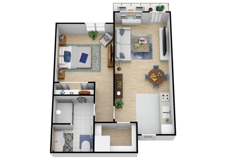 South Hill Village | One Bedroom C
