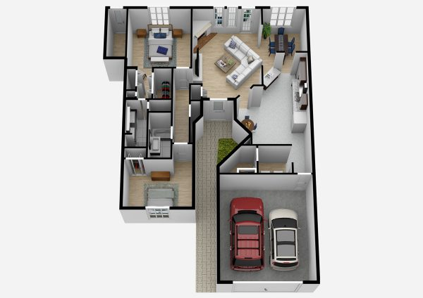South Hill Village | One Level Two Bedroom