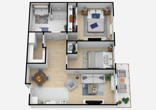 South Hill Village | Two Bedroom D